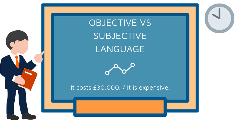objective subjective language