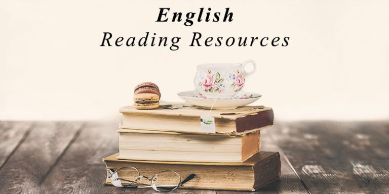 english reading resources