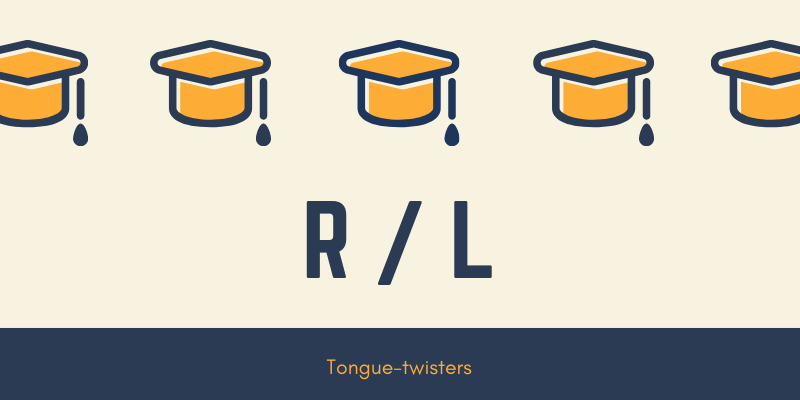 r and l tongue twisters