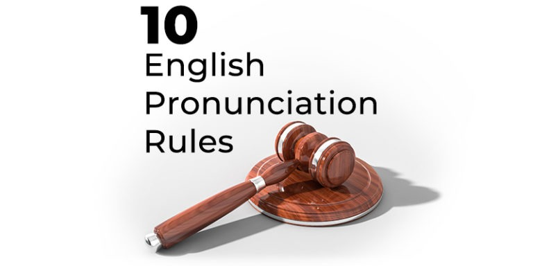 english pronunciation rules